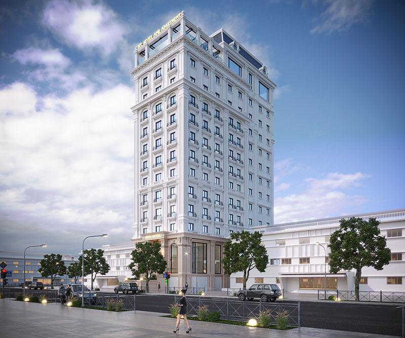 Thiết kế khách sạn Mon Hotel - Phần 1