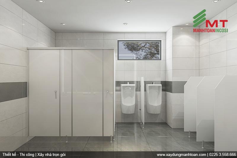 Thiết kế nhà vệ sinh hiện đại