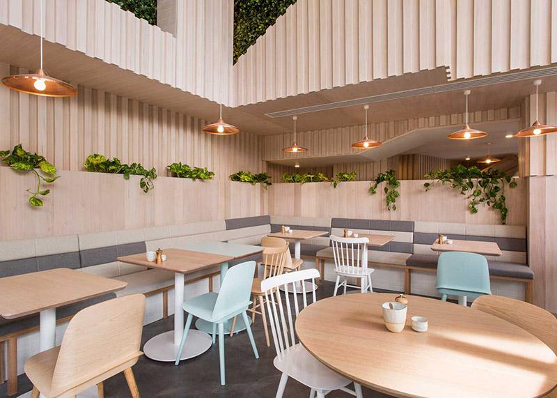 Một số lưu ý khi thiết kế nội thất quán café