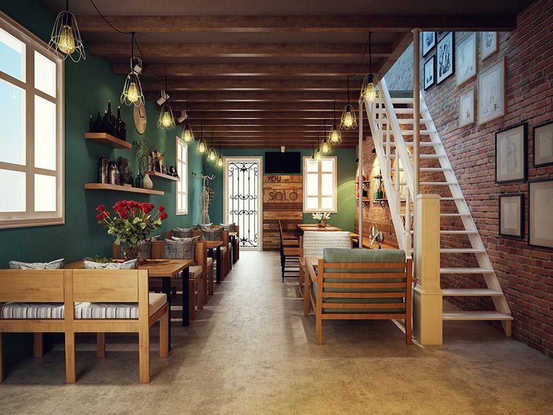 Những yếu tố tạo nên thiết kế nội thất quán café đẹp