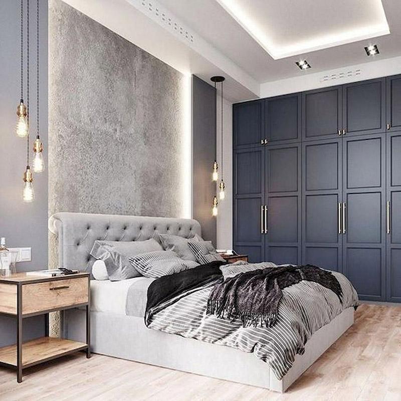 Ưu điểm vượt trội của tủ câm tường phòng ngủ