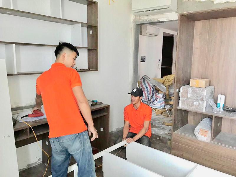 Các bước thi công và thiết kế tủ âm tường phòng ngủ nhanh gọn