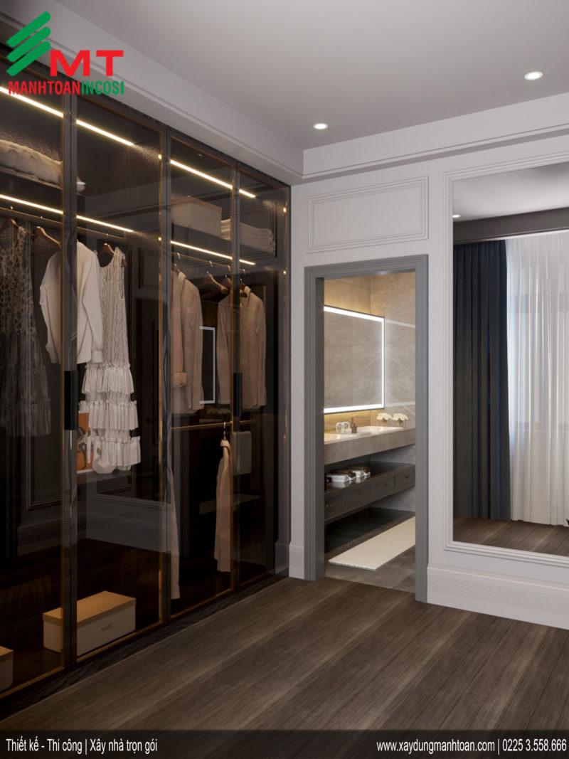 Thiết kế phòng ngủ nội thất tân cổ điển