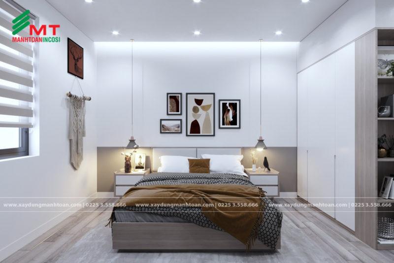 Phòng ngủ thanh lịch tinh tế cho cá nhân