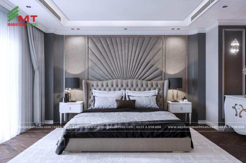 Thiết kế phòng ngủ biệt thự cao cấp
