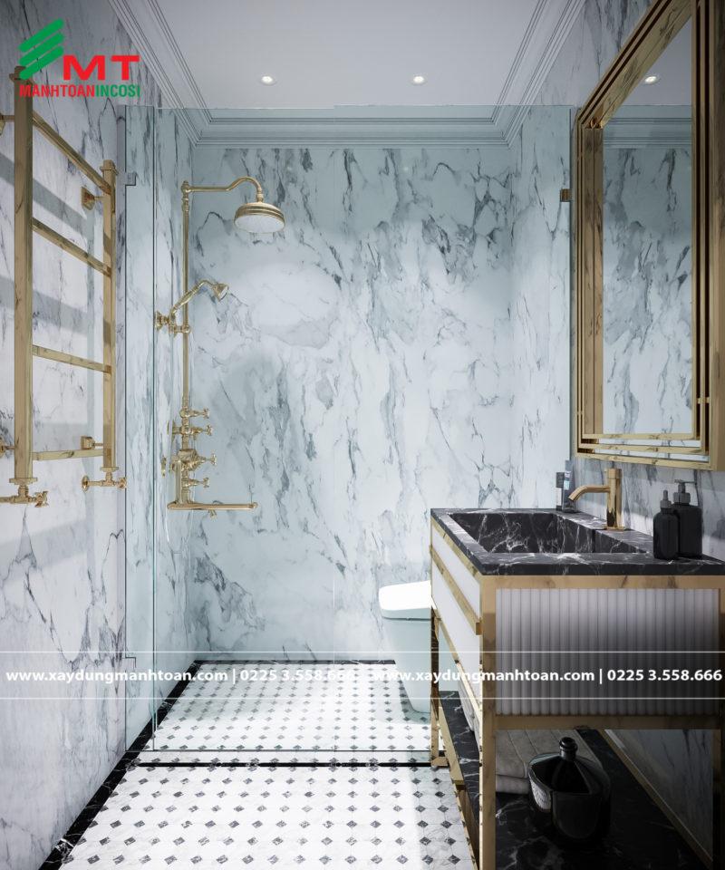 7 nguyên tắc phong thủy khi thiết kế phòng tắm