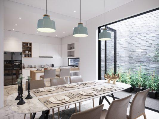 7 điều cần tránh khi thiết kế phòng bếp theo phong thủy