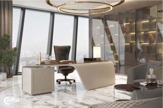thiết kế nội thất phòng giám đốc