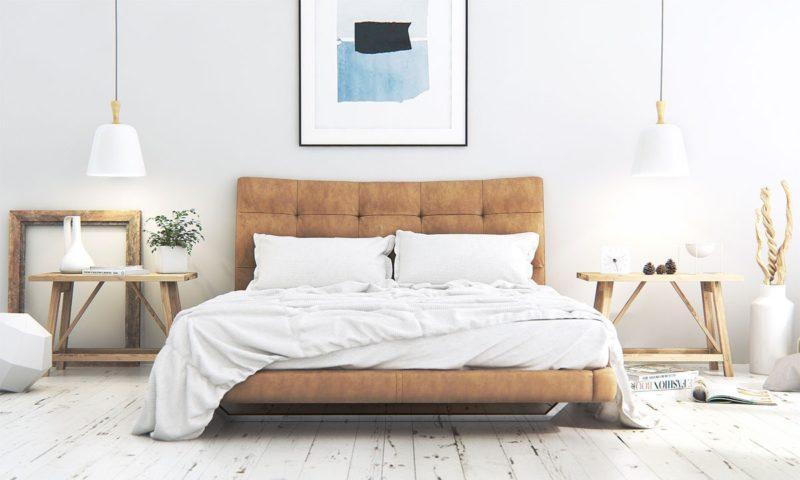phòng ngủ phong cách Scandinavian ấm cúng và gần gũi