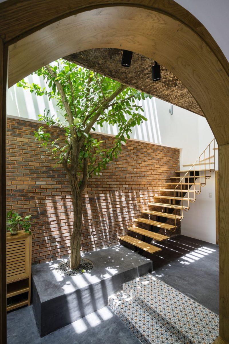 Không gian trong phong cách Tropical thường được thiết kế mở